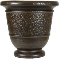 Better Homes and Garden Decorative Resin Bronze Urn