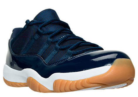 ajordanxi Your  1 Source For Sneaker Release Dates  Air Jordan 11 Retro Low  Midnight Navy White-Gum Light Brown Release Reminder 2706388fd