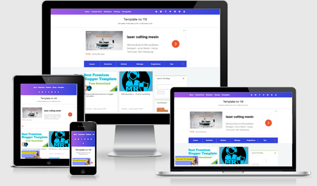 Viral Go Premium Blogger Template