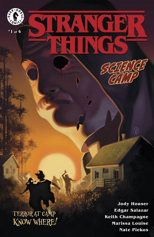 Cover of Stranger Things Science Camp #1