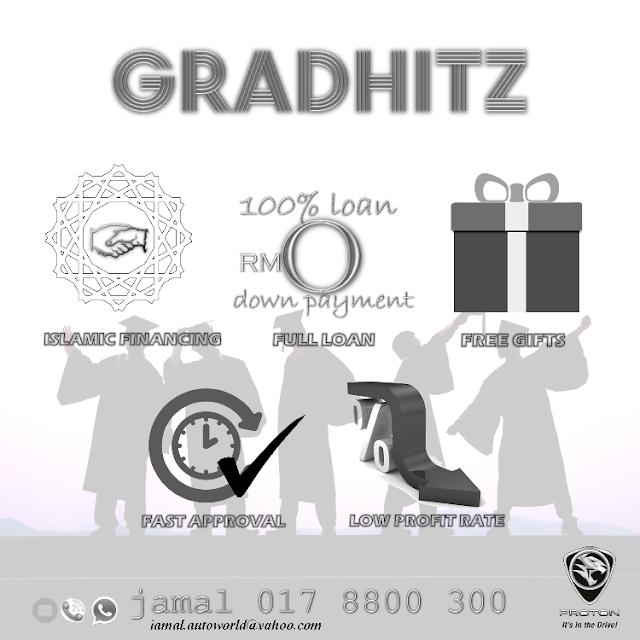 Graduate Scheme / Skim Graduan 0 down payment / promosi proton