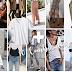 10 Combinações com uma T-shirt Branca
