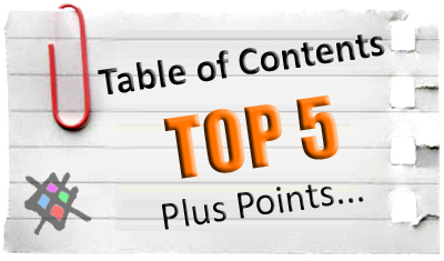 Table of contents post list