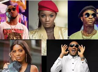 Tiwa Savage, Davido, Burna Boy, Simi Others Nominated For 2019 AFRIMA Award [See Full List]