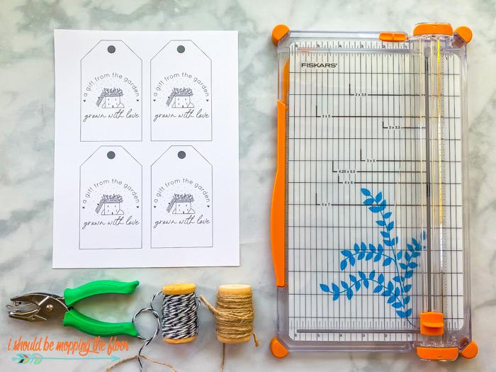 Free Printable Garden Tags