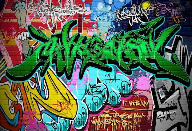 80s Retro Graffiti