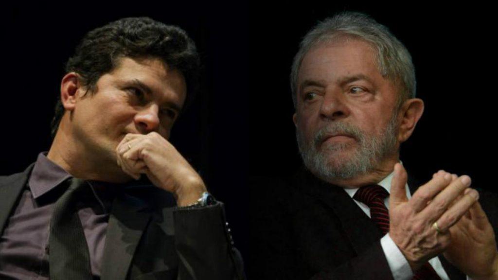 """""""Não tenho problema com ele, nenhum sentimento pessoal negativo"""", diz Moro sobre Lula"""