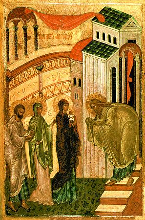 Святитель Феофан Затворник: Сретение Господне