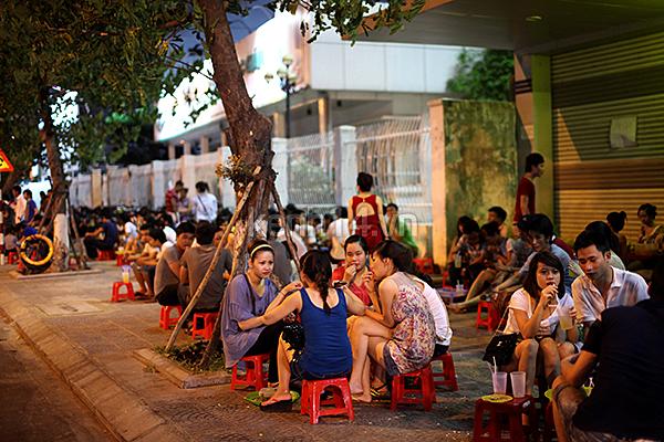 Hanoi Street Coffee