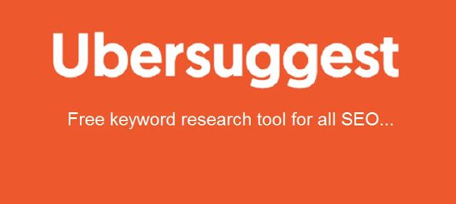 Keyword Research Tool ubersuggest