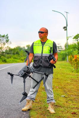 survey pemetaan drone lidar M300