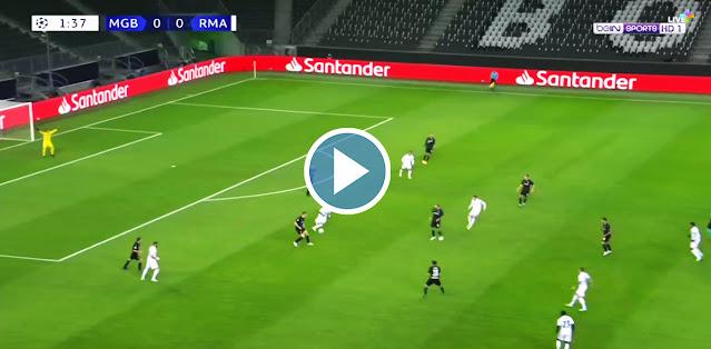 Borussia M'gladbach vs Real Madrid Live Score