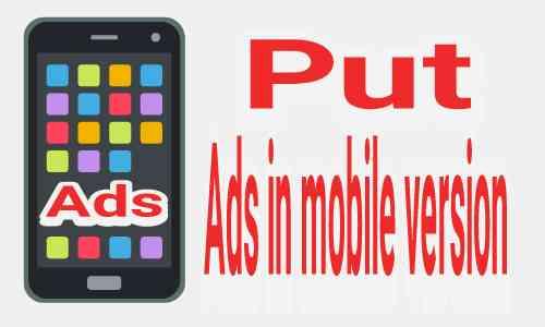 Cara menampilkan iklan adsense di hp (Mobile version)
