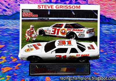 Steve Grissom #31 Big Mama Oldsmobile Racing Champions 1/64 NASCAR diecast blog 1990 BGN First Win