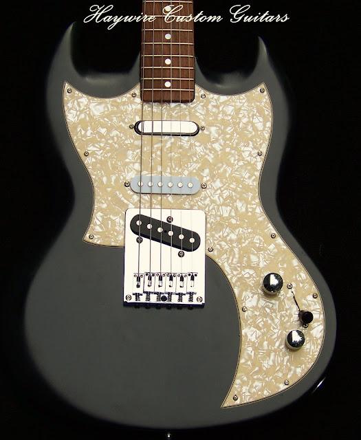 image Custom SG Nashville Haywire Shredneck Guitar PLUS