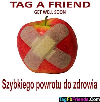 Get well soon in Polish language