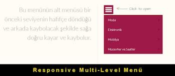 Kod Örnekleri: Responsive Multi-Level Menü