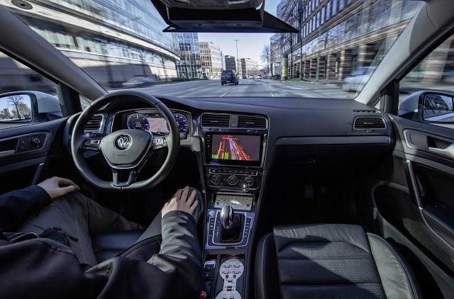 Grupo VW se alia à Microsoft para desenvolver condução autônoma