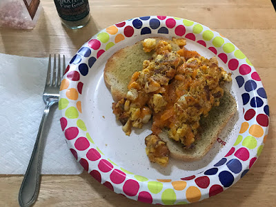 Lobster Egg Scramble