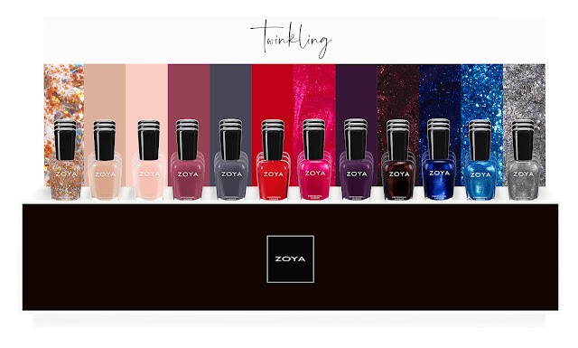 Zoya Twinkling Holiday 2019 Collection