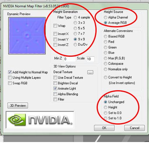nvidia normal map tool mac