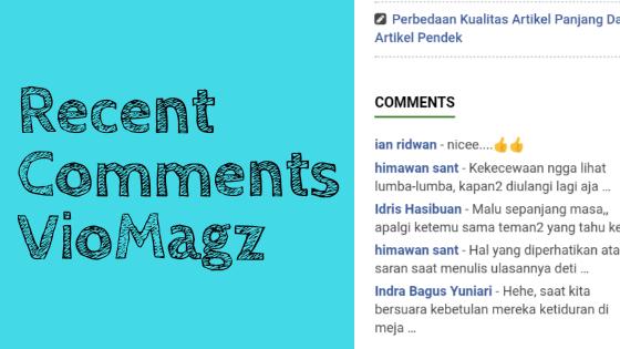 Recent comment