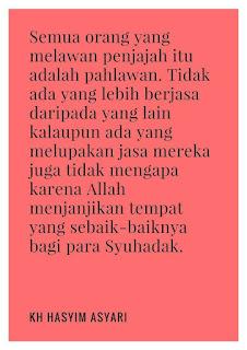 quote KH Hasyim Asyari