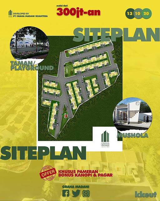 siteplan palm parung residence