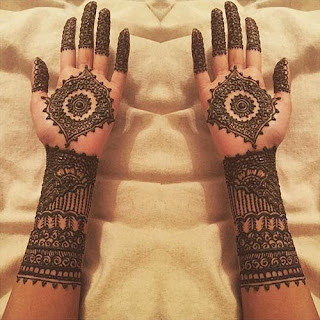 Mehendi Designs, The Swirl Bridal Mehendi Design