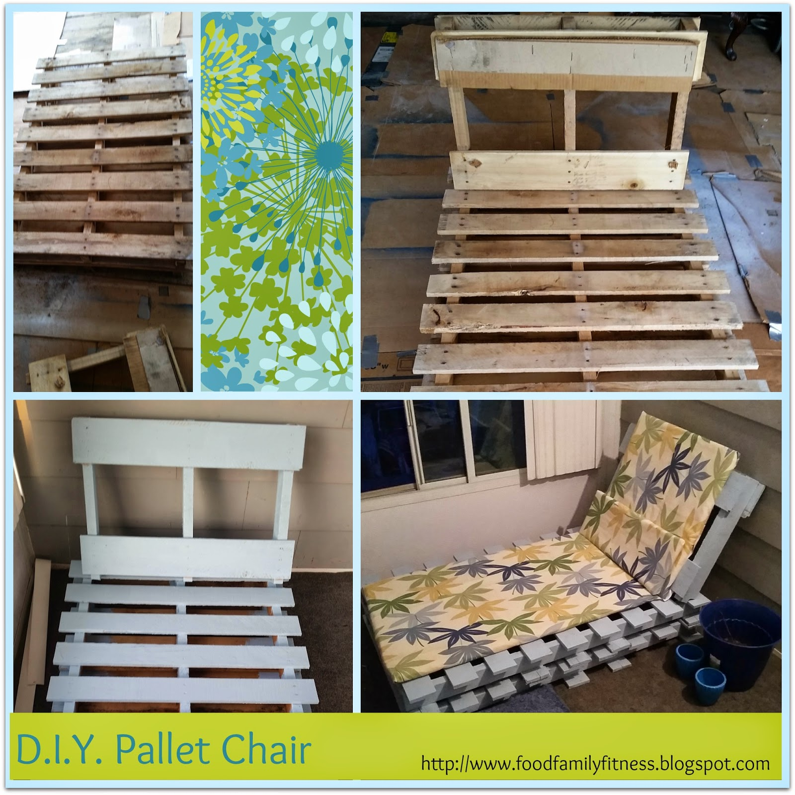 D.I.Y Pallet Lounge Chair | Triple F: Food, Family & Fitness