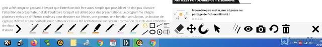 ppInk : un logiciel portable pratique pour annoter son écran