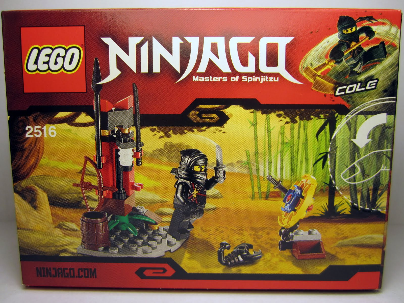 The Brick Brown Fox Lego 2516 Ninja Training Outpost