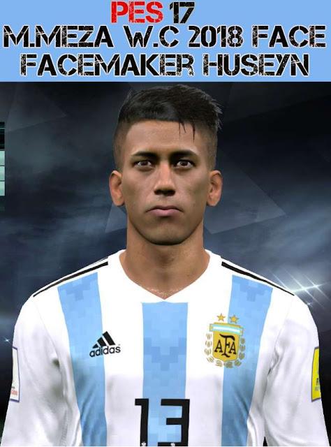 Maximiliano Meza Face PES 2017
