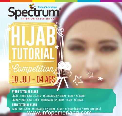 Kontes Tutorial Hijab Berhaidah Uang Total 3,25 JUTA
