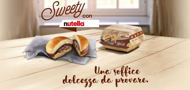 Hamburguesa de Nutella en McDonald's