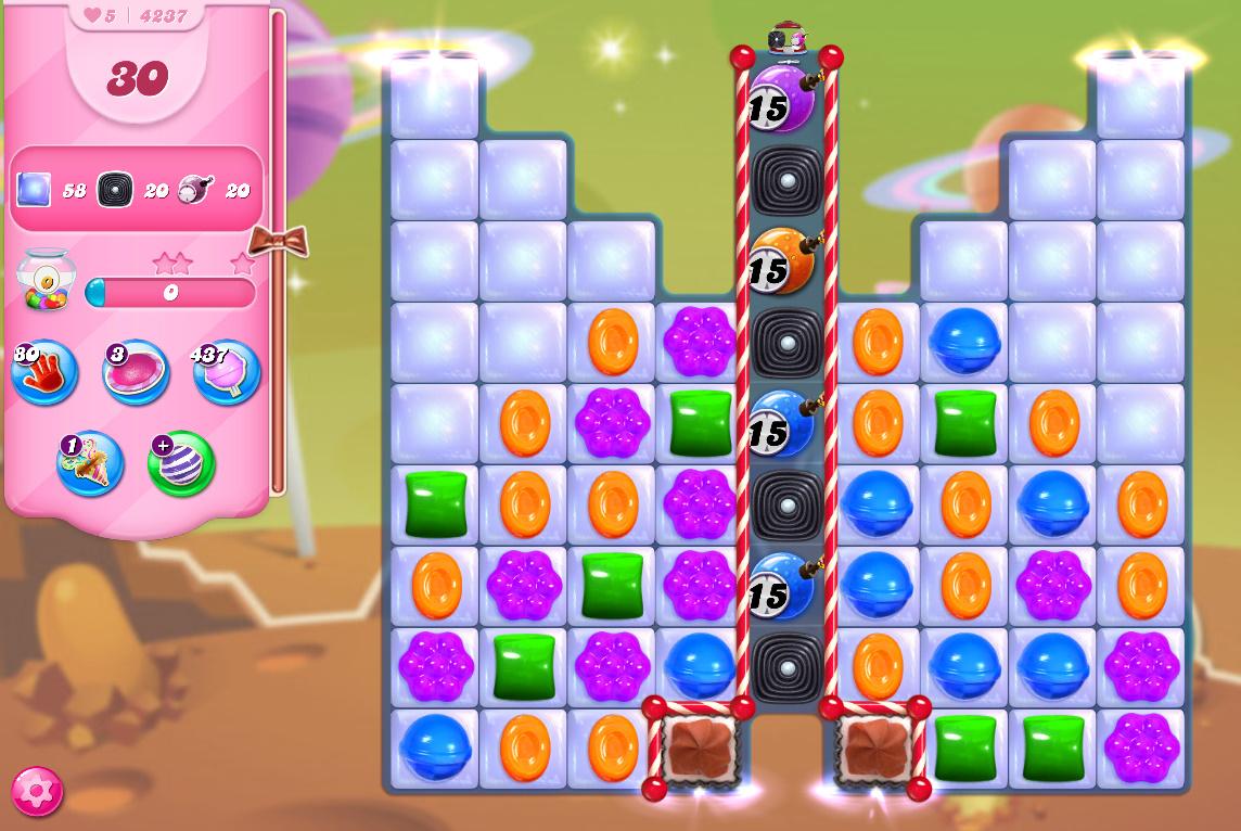 Candy Crush Saga level 4237