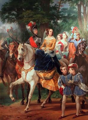 Орас Верне портрет семьи Витгенштейн