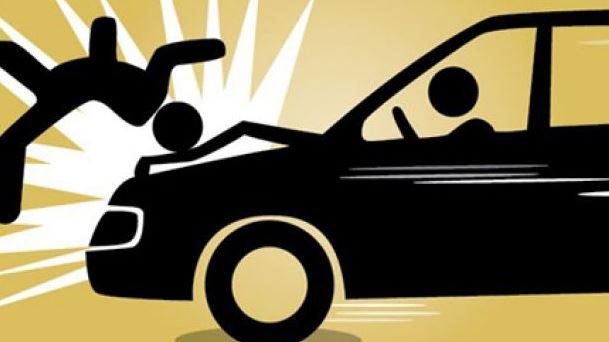 kecelakaan maut motor ditabrak mobil di langkat