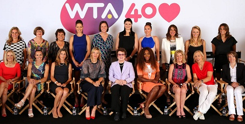 Women's Singles Players who take the No.1 Tennis Ranking in WTA Tour history.