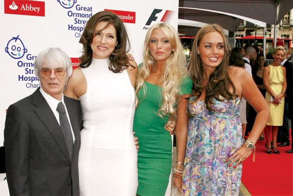 Slavica Ecclestone Esposa de Bernie Ecclestone Dueño de la Formula Uno