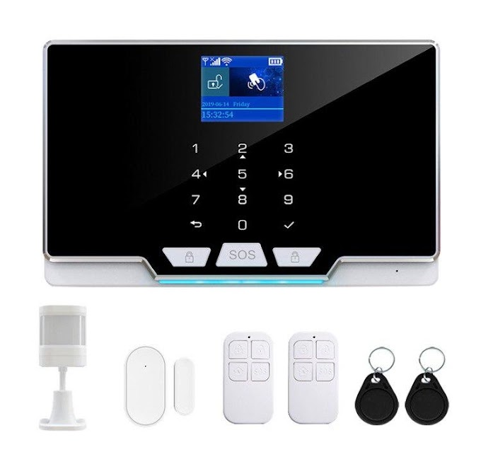 GSM+WiFi Motion Sensor Home and Shop Security Alarm