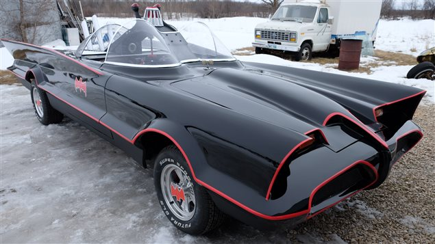 A Batman car officially comes out from his cave in Winnipeg