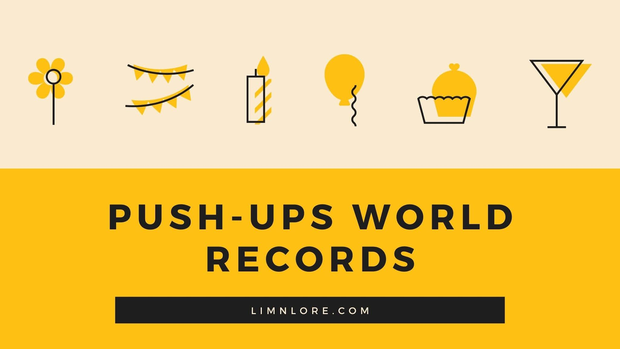 Push up world records facts