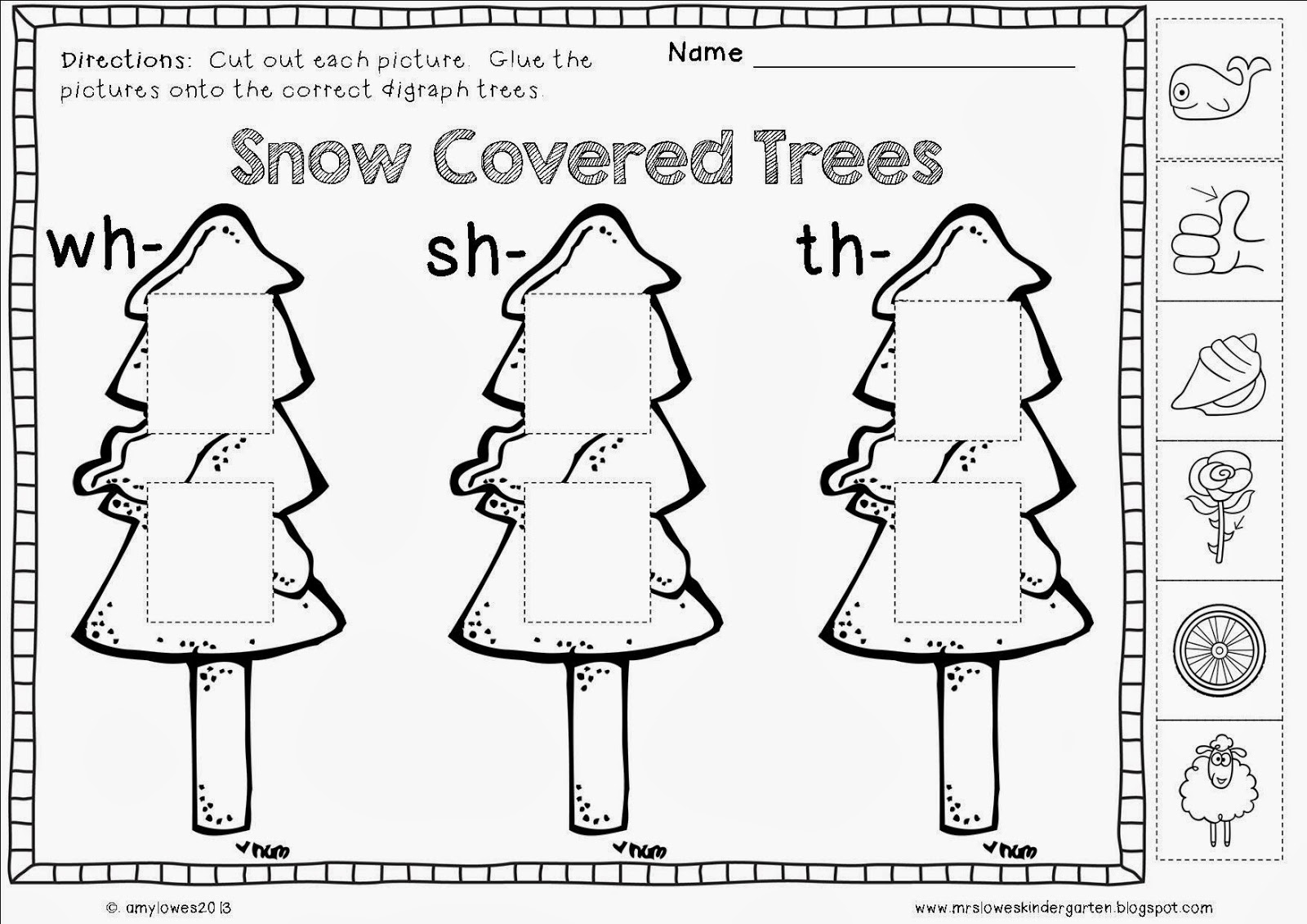 Mrs Lowes Kindergarten Korner No Prep Winter Math And Literacy Printables Giveaway
