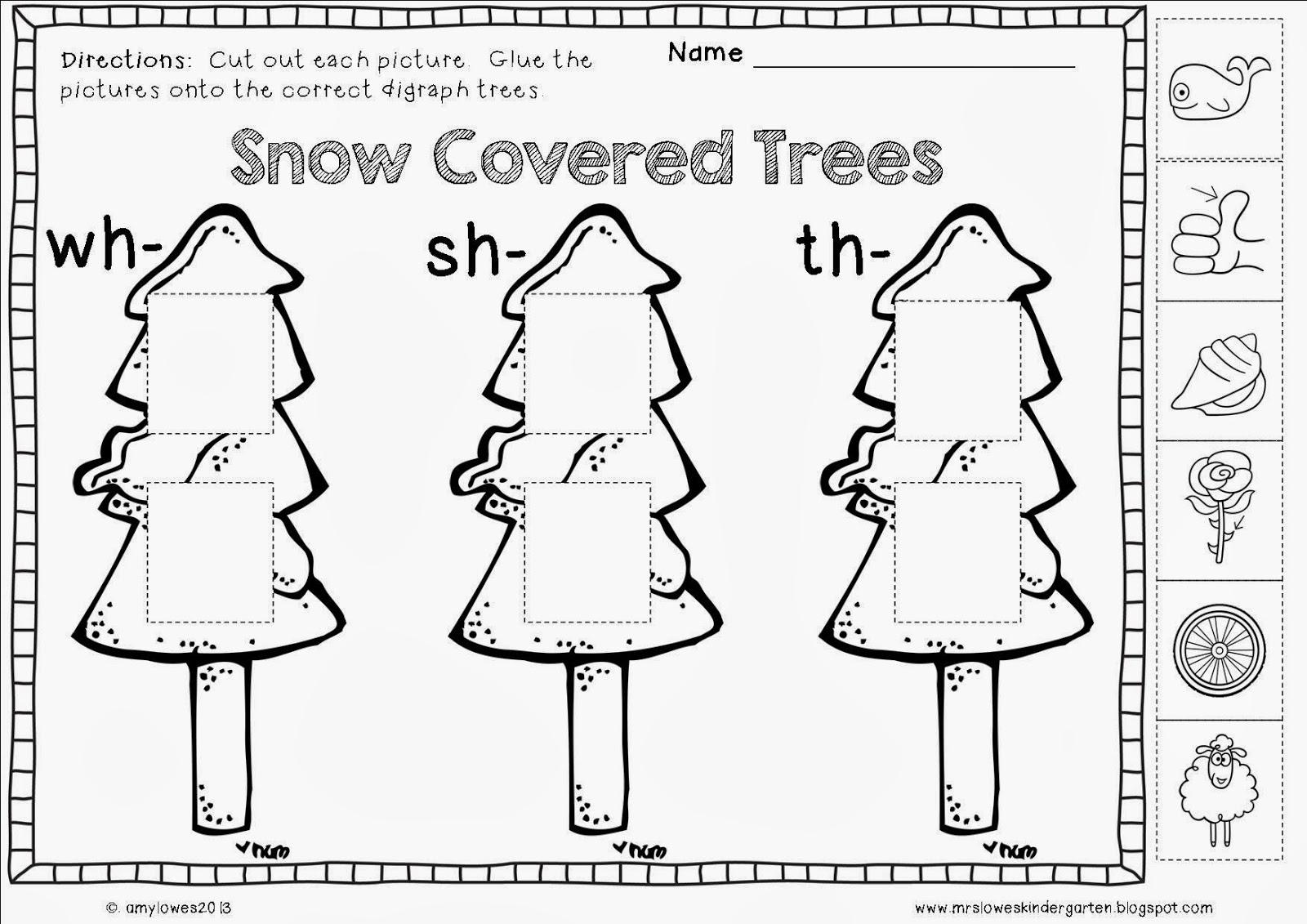Mrs. Lowes' Kindergarten Korner: No Prep Winter Math and