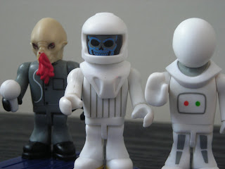 Character Building Doctor Who Microfigures Series 3 Handibot, Ood and Vashta Nerada