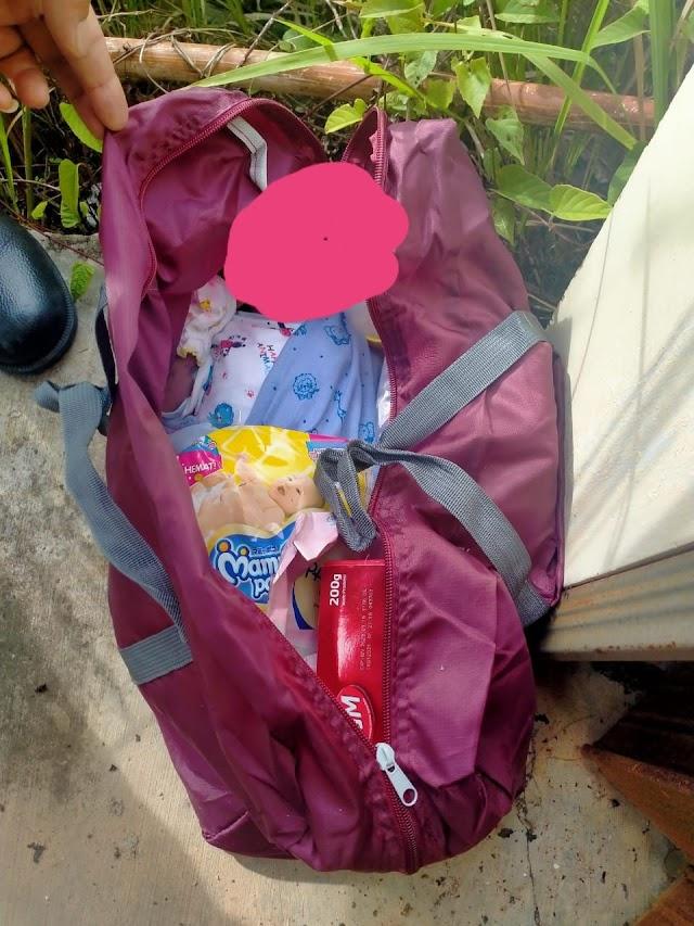 Di Bungo, Ditemukan Bayi Dalam Tas Sudah Tak Bernyawa