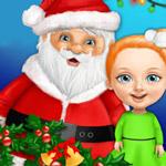 لعبة طفلة عيد الميلاد الحلو