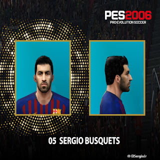pes 6 busquets update face