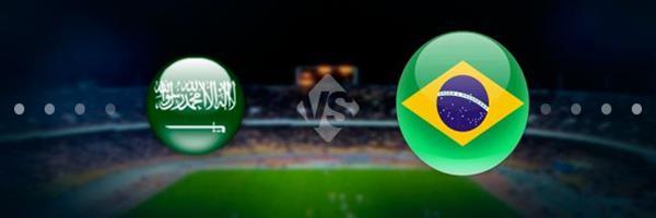 بثنائية نظيفة المنتخب البرازيلى يحقق أنتصارا هاما على حساب المنتخب السعودى